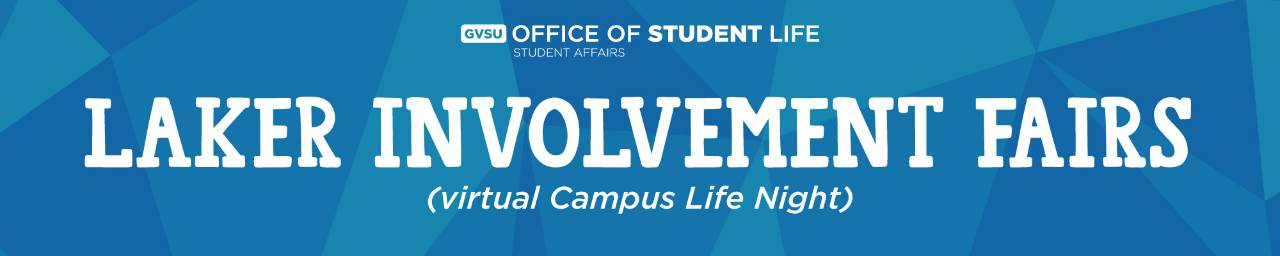 Laker Involvement Fairs - virtual Campus Life Night